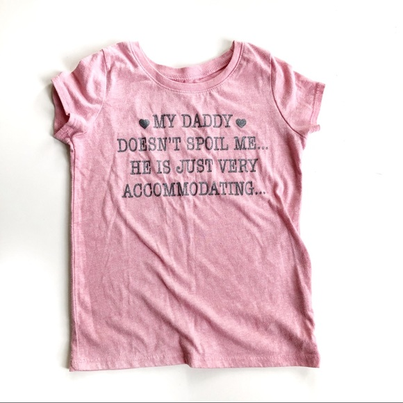 Children's Place Pink Graphic T Short Sleeve 4T